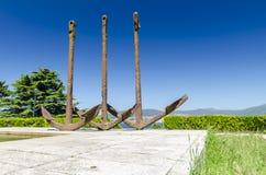 Ancres de Vigo Photographie stock libre de droits