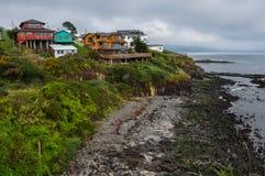 Ancud, ilha de Chiloe, o Chile fotografia de stock royalty free