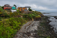Ancud, Island of Chiloe, Chile Royalty Free Stock Photography