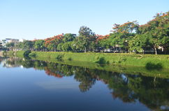 AnCuu flod Arkivbild
