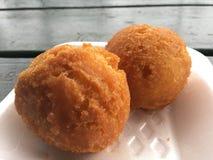 Andagi, Okinawa Donuts em Kekaha na ilha de Kauai, Havaí fotografia de stock