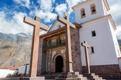 Andahuaylillas kyrka royaltyfri foto