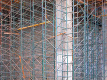Andaime da construção Imagens de Stock Royalty Free