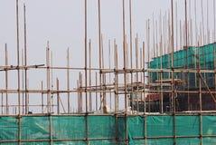 Andaime da construção civil Imagens de Stock