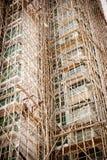 Apartamentos sob a construção Imagens de Stock Royalty Free