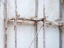 Andaime de madeira velho Fotografia de Stock