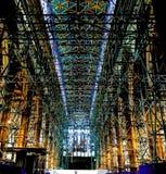 Andaime na catedral da casca Imagens de Stock