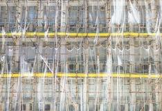 Andaimes de bambu Foto de Stock