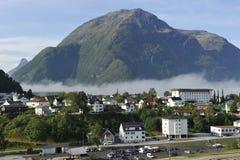 Andalsnes, Νορβηγία στοκ εικόνα