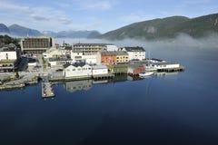 Andalsnes Norge royaltyfri fotografi