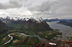 Andalsnes, Norway Royalty Free Stock Photography