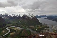 Andalsnes, Norwegen Lizenzfreie Stockfotografie