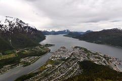 Andalsnes, Norwegen Lizenzfreie Stockbilder