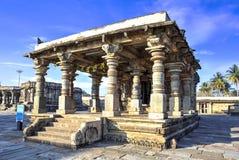Andaltempel, Belur, India Royalty-vrije Stock Afbeeldingen