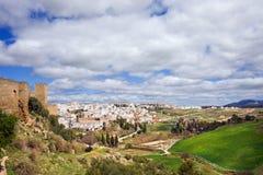 Andalucia和朗达 库存照片
