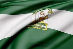 Andalucia flag Royalty Free Stock Image