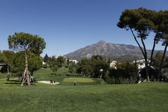Andalucia Golf Open, Marbella, Spain Stock Photo