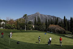 Andalucia Golf Open, Marbella, Spain Royalty Free Stock Images