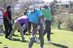 andalucia golfmarbella öppna spelare Arkivfoton