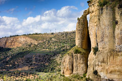 Andalucia Landscape in Southern Spain Stock Photo