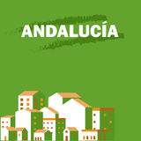 Andalucia's day. Poster Royalty Free Stock Photos