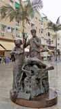 Andalucia Square-Torremolinos--malaga-Andalusia--Spain Royalty Free Stock Images