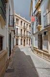 Andalucian-Dorf stockbild