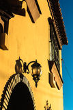 Andalucian Lantern Revisited. The buildings in Andalusia have wonderful details stock image