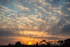 Andalucian Sunset Royalty Free Stock Photo