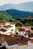 Andalusian village. A typical Andalusian village in the mountains Royalty Free Stock Photography