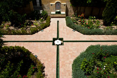 andalusi ogród Obraz Royalty Free