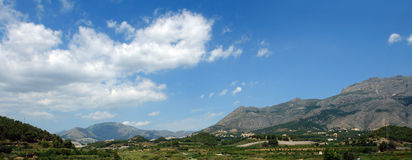 Andalusia. Stunning Landscapes of Spain - Andalusia (panorama view Royalty Free Stock Photography