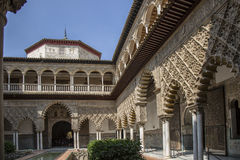 Andalusia, Alhambra. Historical palace in Spain Stock Images