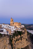 Andalusia,Arcos de la Frontera,Church,San Pedro Royalty Free Stock Photo