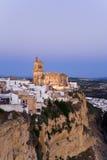 Andalusia,Arcos de la Frontera,Church,San Pedro Royalty Free Stock Photo