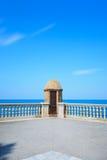 andalusia Cadiz Spain wieżyczki zegarek Obrazy Royalty Free