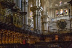 Andalusia, Cathedral, interior Royalty Free Stock Photos