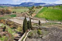 Andalusia Countryside in Spain Stock Photography
