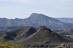 ANDALUSIA DESERT. Cabo de Gata Natural Park in Andalusia, Spain. Deserts Royalty Free Stock Images