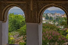 Andalusia, Granada, Alhambra Royalty Free Stock Photography