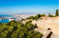 Andalusia i swój skarby artystyczna architektura zdjęcie royalty free