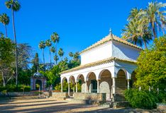 Andalusia and its treasures of artistic architecture stock photos
