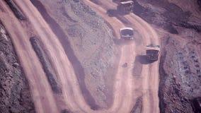 andalusia jordindustri fördärvar bryta spain stock video