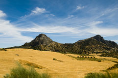 Andalusia landscape Stock Photo