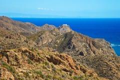 Andalusia landscape. Parque Cabo de Gata. Stock Image