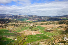 Andalusia Landscape in Spain Royalty Free Stock Images