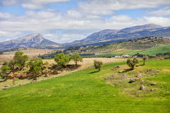 Andalusia Landscape in Spain Stock Photo