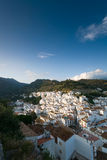 Andalusia,Mountain village Casares Royalty Free Stock Photography
