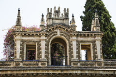 Andalusia, Spain. Andalusia, Alhambra, decorated income of palace Stock Photos