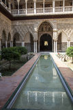 Andalusia, Spain. Andalusia, Alhambra, historical and decorated palace Stock Image